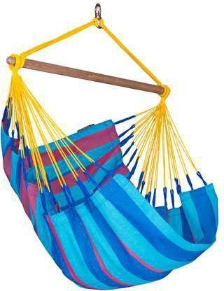 Hangstoel Standaard Mediteraneo.Sonrisa Wild Berry Eenpersoons Klassieke Hangmat Outdoor La Siesta Snh14 3
